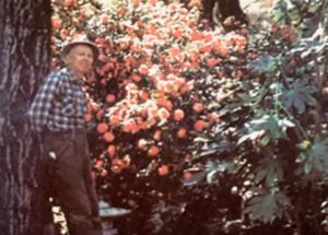 Dr. Ernest L Norman in Garden
