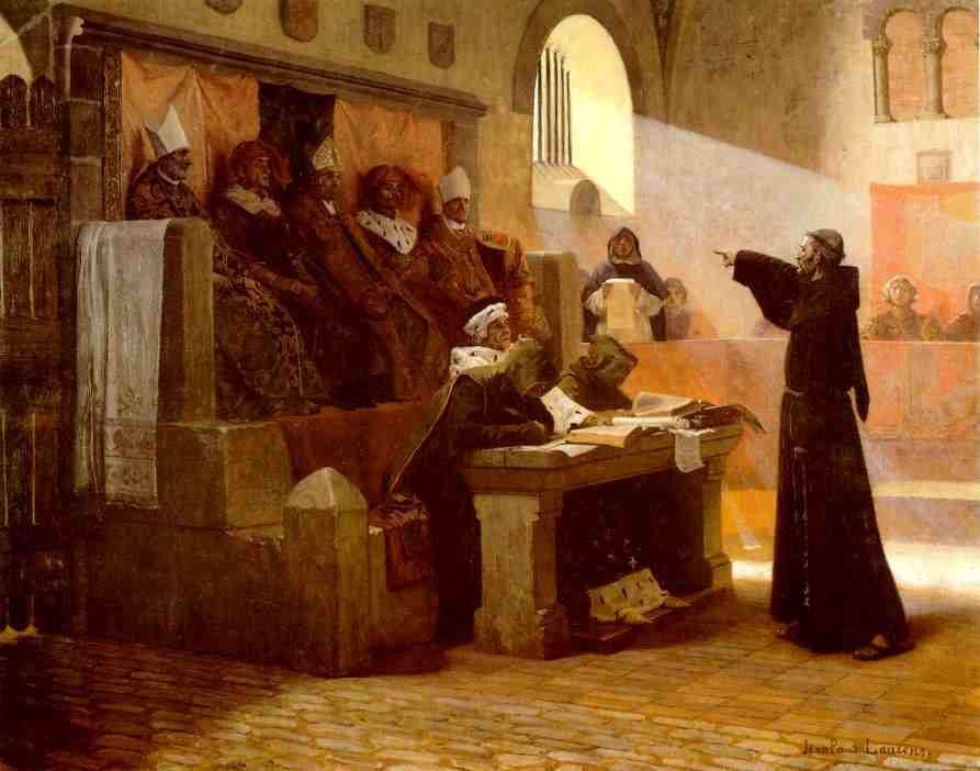 Dream about past Religious Inquisition